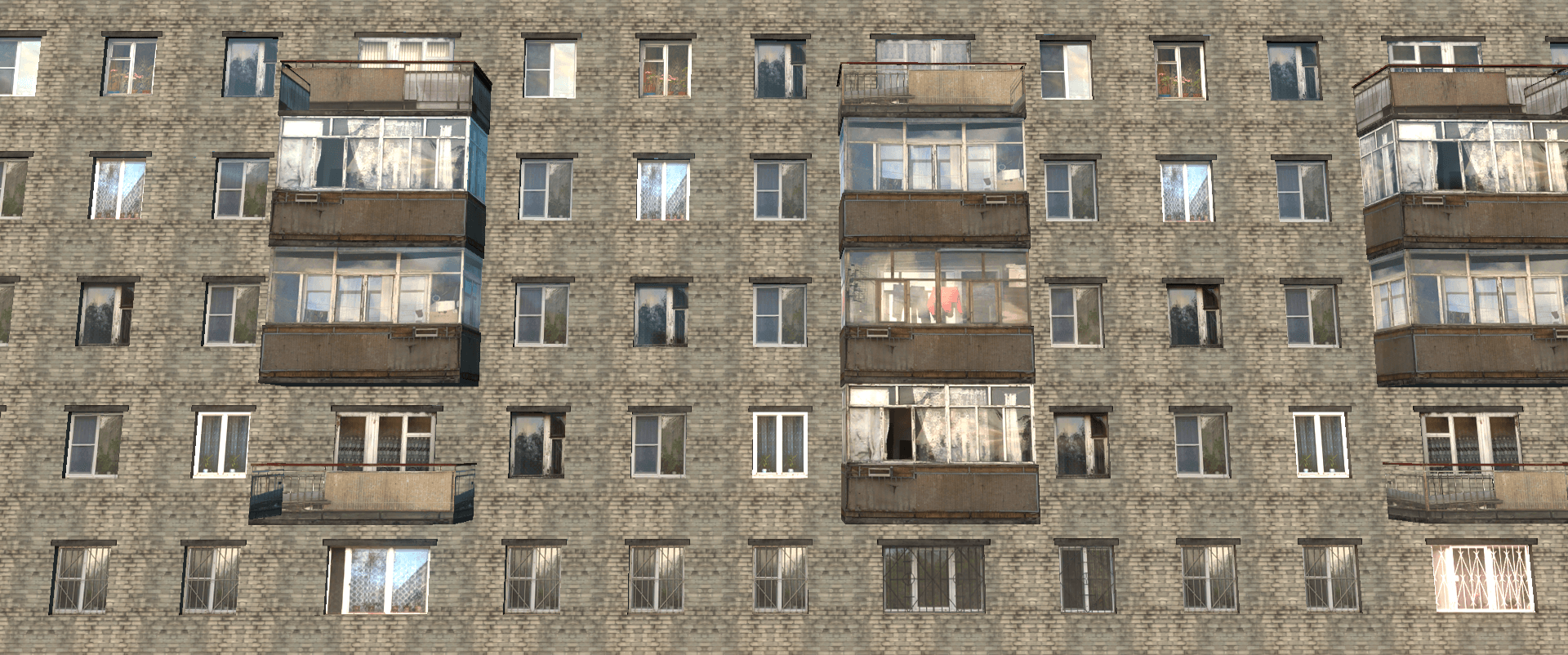 цены на окна 5-ти этажка (кирпич)